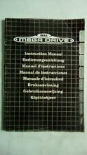 Sega Mega Drive Instruction Manual   Instruction Booklet