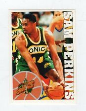 figurina - BASKETBALL BASKET PANINI 1995 95/96 - numero 269 SAM PERKINS