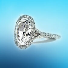 Engagement Ring Gia Certified Elegant Oval Diamond 4.57 ct