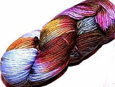 Painterly Beauty DEJA VU LG Skein 210yd Malabrigo WORSTED K-D MERINO X-Soft YARN