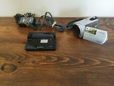 SONY Video Digital Handycam-DCR-SR42 30GB HDD Silver video camera camcorder