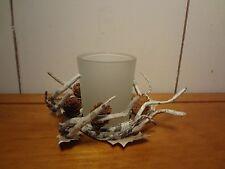 Woodland Votive Candle Holder