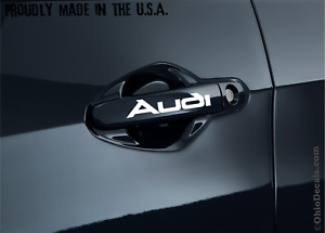 Audi a3 a4 a5 a6 a7 door handle decal / sticker