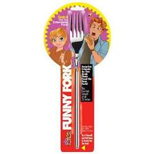 THE JOKER FUNNY FORK EXPANDABLE FORK TO 25 INCHES FUN GAGS