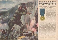 A2086) WW2, GRECIA, M. O. BARBIELLINI AMIDEI, 48 FANTERIA FERRARA. VIAGGIATA.