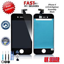 Nuevo Calidad Premium Iphone 4 PANTALLA TÁCTIL LCD RETINA Negro Montaje Digitalizador