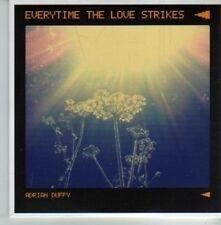 (CV960) Adrian Duffy, Everytime The Love Strikes - 2012 DJ CD