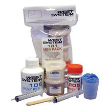 West System 101 Mini Pack Epoxy Resin Repair Kit. Ideal for small boat repairs.