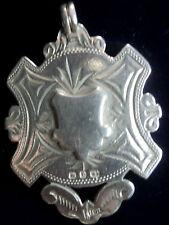 GRANDE medaglia d'argento/Fob/Ciondolo-Herbert bushell 1898-non incisa