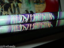 LED ZEPPELIN DRUM STICK DRUMSTICK SET BLUE SYMBOLS -NICE!