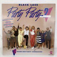 BLACK LACE Party Party 2 - Vinyl Album LP Record - 1985 Family Hits Christmas