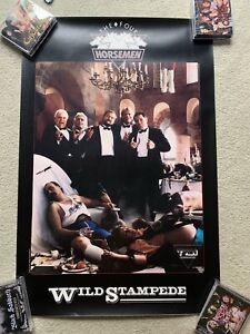 4 Horsemen Poster Ric Flair Tully Blanchard Arn Anderson NWA Lex Luger AEW WWF