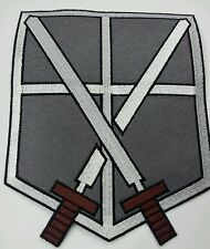 XL embroidered patch 22cm x 17cm Attack on Titan Training Corps for Jacket/bag