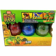 Breakout Beasts Mega Construx Slime. 3 Different Beast to Build!