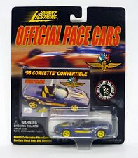 JOHNNY LIGHTNING '98 CORVETTE CONVERTIBLE Official Pace Cars Die-Cast MOC 1999