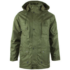 Mil-Tec Parka Dubon Mens Winter Quilted Military Jacket Warm Hooded Coat Olive L