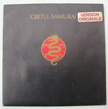 "MICHAEL CRETU (SP 45T 7"") SAMURAI - FRANCE 1985"