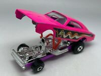 Matchbox Lesney Superfast No 70 Pink Dodge Dragster with Purple Base