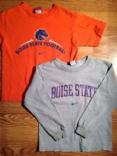 Nike Shirts Lot Of 2 Boys Size 6-7 Boise State Football Long Sleeve Short Sleeve