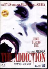 THE ADDICTION vampiri A New York - DVD NUOVO SIGILLATO, PRIMA STAMPA, NO EDICOLA