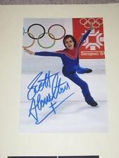 Figure Skating SCOTT HAMILTON Signed 4x6 Photo OLYMPICS AUTOGRAPH 1K