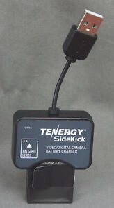 NEW Tenergy GOPRO HERO 3 & 4 Battery with Charger Adapter. 1050mAh 3.885Wh.