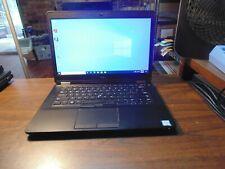 DELL LATITUDE E5470 Ultrabook 2.40GH i5 6300U 8GB 240GB SSD  #5976 Cam 1920X1080