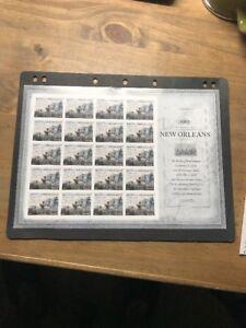 Scott #4952, Sheet of 20-2015 War of 1812 New Orleans VF MNH