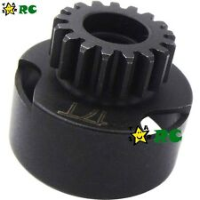 17T Clutch Bell with Bearings for 1/8 RC Nitro Traxxas Trucks Buggy Car
