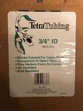 "TetraTubing Vinyl Pond Tubing -  3/4"" ID - Smoke Colored - Cut To Length 1' Incr"