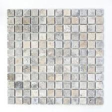 Marmor Mosaik Silver Antique Travertine Küche Fliesenspiegel WB43-47023|1 Matte