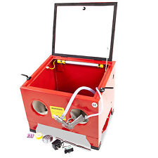 home diy garage workshop portable bead grit shot polishing sandblaster cabinet