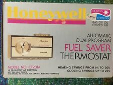Honeywell Automatic Dual Fuel Saver Thermostat Electric New (Open Box) CT201A