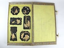 #1651 Chinese Vintage Ink Sumi Sticks Calligraphy Shodo Painting Buddhism Monks