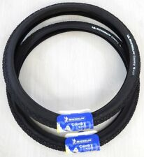 2 PNEUS MICHELIN COUNTRY DRY 2 RIGIDES NOIRS 26 X 2.00 ( 52-559 ) neufs