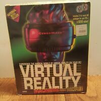 VIRTUAL REALITY MADNESS AND MORE/BOOK 2 Cd Software - NEW SEALED Vintage