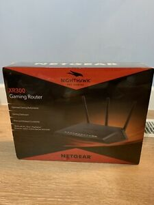 NETGEAR Nighthawk Pro Gaming Router Open Box WiFi XR300-100NAS XR300 100NAS