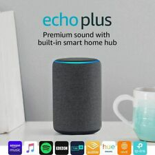 Amazon Echo Plus 2nd Gen Premium sound with built-in smart home hub Charcoal UK!