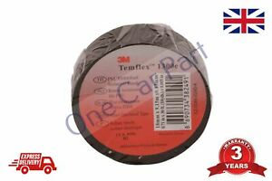 10m x 15mm Quality Electrical Tape Temflex Isolation Insulating Tape (3M)