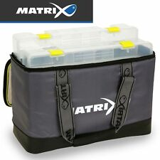 Fox Matrix Pro feeder case L - Angeltasche + 2 Angelboxen zum Feederangeln