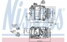 NISSENS Compresseur de climatisation pour BMW Série 6 89199 - Mister Auto