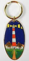 Leuchtturm Westerhever Souvenir Schlüsselanhänger Metall,9,5 cm,NEU