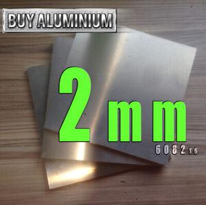2mm Aluminium Sheet plate- Grade 6082 T6
