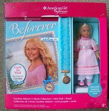 American Girl Caroline Mini Doll and 3 Boxed Book Set Beforever