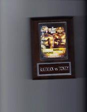 HASIM RAHMAN vs JAMES TONEY POSTER PLAQUE BOXING PHOTO PLAQUE CHAMPION