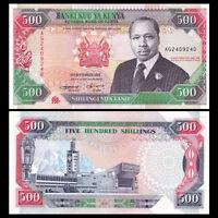 Kenya 500 Shillings Banknote, 1993, P-30f, UNC