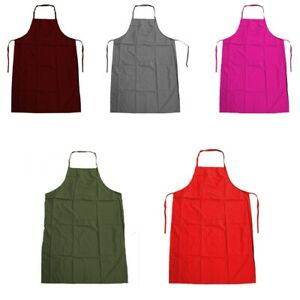 APRONS WATERPROOF POLYESTER ASSORTED COLOURS