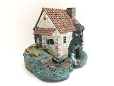 "Hawthorne ""Springbridge Cottage"" Stonefield Valley Collection LeVan Figurine"