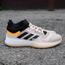 ADIDAS MARQUEE BOOST LOW - F97280 - TAN / BLACK / ORANGE - MEN'S SHOE SIZE 12