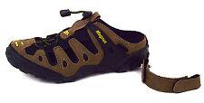 Herren Sabot Sandalen Pantoletten Schuhe Clogs abnehmbarer Fersenriemen Braun